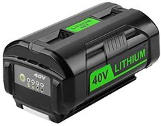 Energup Replacement 6.0Ah OP4050A 40V Lithium Ryobi Battery for Ryobi 40Volt Battery Cordless Tools OP4015 OP4026 OP40201 OP40261 OP4030 OP40301 OP4040 OP40401 OP4050 OP40501 OP40601 Ryobi 40V Battery - - Amazon.com Ryobi Battery, Dish Storage, Propane Gas Grill, Double Hammock, Knife Block Set, Cordless Tools, Patio Heater, Lawn Care, Outdoor Area Rugs