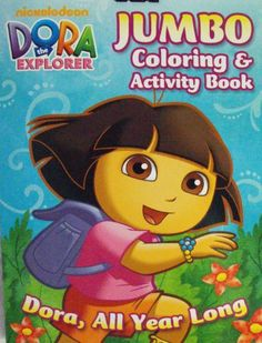 Dora The Explorer Coloring Activity Book All Year Long By Bendon 2010