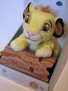 Disney Baby Dreamy Stars Lion King Simba Night Sky Soother Nursery Nightlight  #DisneyBaby