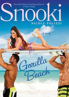 """My new book Gorilla Beach! Its the sequel to my New Times Bestselling Novel """"A Shore Thing"""""""