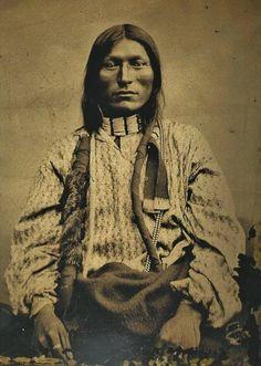 Northern Cheyenne man - circa 1880