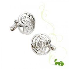 Maeve Celtic Knot Cufflinks Celtic Knot, Knots, Cufflinks, Design Inspiration, Engagement Rings, Jewelry, Fashion, Enagement Rings, Moda