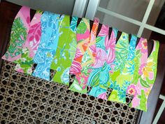 lilly bow ties! #LillyPulitzer #SouthernWeddings