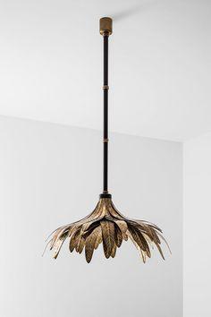 """""""Lampada 048"""" von Dimore Studio mit Blätterdach, Preis auf Anfrage. (Foto: Hannah Whitaker)"""