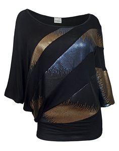 88e8304998c eVogues Plus size Sequins Scoopneck Top at Amazon Women s Clothing store