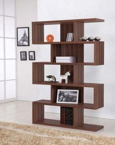 What's Cheaper Than Building a Real Wall?  Room Dividers.: Bookcase Divider