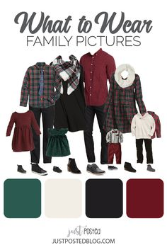 What to Wear for Family Pictures! Christmas and Fall Family Photos look ideas! This link has 8 different options for what to wear for family pictures from babies and toddlers to adults! This look woul Fall Family Picture Outfits, Winter Family Pictures, Family Christmas Outfits, Christmas Pictures Outfits, Family Pictures What To Wear, Family Photo Colors, Family Outfits, Family Pics, Holiday Photos