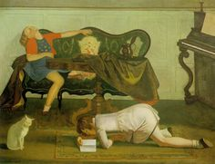 Balthus | cats and girls—on view at the Metropolitan Museum of Art, New York