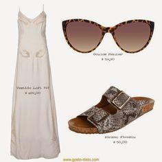 Aproveitando o vestido branco do Réveillon