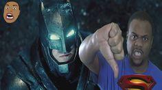 BLACK MAN ANGRY AT BATMAN V SUPERMAN TRAILER @SIGGAS