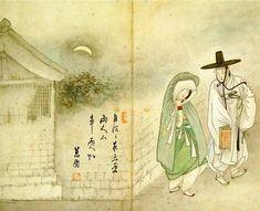 박희탁의 미술교육 :: 김홍도와 신윤복