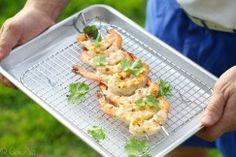 Grilled Cilantro Lime Shrimp