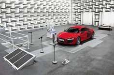 AUDI e-sound for electric cars - For future use in its electric 'e-tron' models, AUDI has developed 'e-sound', a realtime technique of generating synthetic motor sounds  for the essentially silent vehicle in order to warn pedestrians and cyclists of the car's proximity. while recent legislative efforts in the US  are making it mandatory that companies add artificial engine sounds to electric vehicles, manufacturers are taking the requirement as an opportunity to experiment with the…