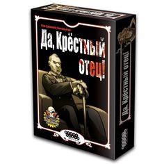 Si, Oscuro Padrino!, board game, boardgame, Hobby World, Да, Крёстный отец!, настольная игра, Мир Хобби