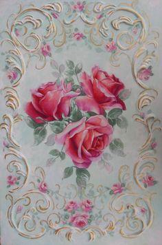rose painting Jonny Petros