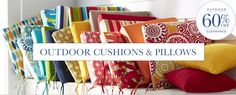 Outdoor Cushions | The Company Store