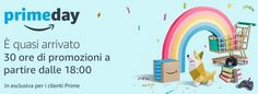 Approfitta di Amazon Prime Day, spendi online i tuoi voucher Cadhoc