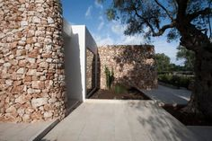 An Ancient/Modern House in an Italian Olive Grove : Remodelista