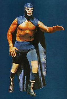 Legendary luchador Blue Demon