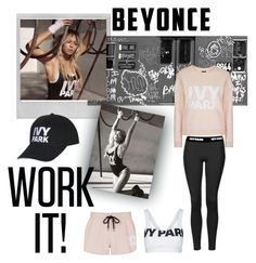 """""""Beyonce Ivy Park"""" by janicevc on Polyvore featuring Polaroid, Topshop, Ivy Park, Workit and IvyPark"""