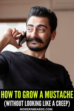 So, you want to learn how to grow a mustache. Great! The only downside is that growing a mustache can leave you looking like a creep if you're not careful. How do you grow a mustache without looking like a creep? Keep reading to find out! One of the best things that you can do to get started with growing a mustache is to start growing a beard. #growmustache #mustache