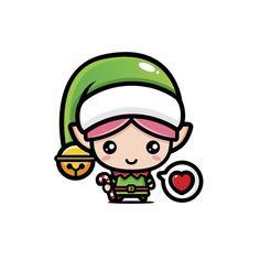 Merry Christmas And Happy New Year, Happy Holidays, Cute Easy Drawings, Happy New Year 2020, Christmas Illustration, Otaku Anime, Painted Rocks, Crafts For Kids, Mandala
