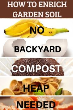 Container vegetable gardening 615515474061371180 - Ways to enrich your garden soil naturally – no backyard compost heap needed. Source by sowsmallgarden Compost Soil, Garden Compost, Garden Pests, Garden Fertilizers, Compost Barrel, Compost Bucket, Herbs Garden, Fenced Garden, Compost Tumbler