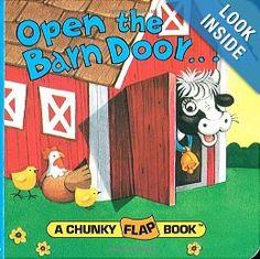 Amazon.com: Open the Barn Door (A Chunky Book(R)) (9780679809012): Christopher Santoro: Books