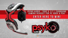 Psyko Audio - Win a 5.1/7.1 Surround Sound Gaming Headset - http://sweepstakesden.com/psyko-audio-win-a-5-17-1-surround-sound-gaming-headset/