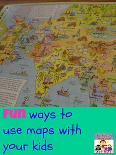 fun ways to use maps with your kids