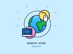 Remote work by Adrian Goia