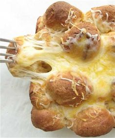 Golden Cheese Bread...make Sure You Serve This Warm Out Of The Oven!