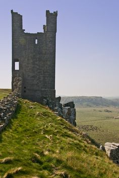 Dunstanburgh Castle tower, Alnwick, Northumberland