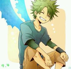 My favorite posts, Started to watch 'The Law of Ueki' again,...