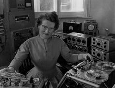 """Daphne Oram: pioneer of British electronic music. Oram was one of the first British composers to produce electronic sound, a pioneer of what became """"musique concrete"""" – music made with sounds recorded on tape, the ancestor of today's electronic music. Lee Meriwether, Radios, Marion Davies, Robert Mcginnis, Lynda Carter, Carole Lombard, Playlists, Inspektor Gadget, Hifi Video"""