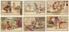 CHROMOS BON MARCHÉ - 1889/1891 - PETITES SCENES DANS DIFFERENTS PAYS. Série[...] | Auction.fr