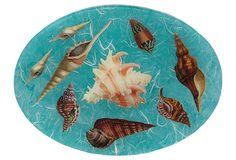9x12 Oval Seashell Tray