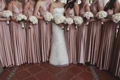 I am calling myself the number one fan of classic soirees with sweet little somethings today. This wedding, coordinated by Barbara's Brides, being number one of the favorites list. The design was deeply rooted in gorgeous tradition, starting with the