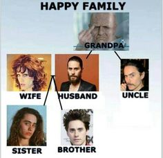 "HILARIOUSNESS! ""Jared Leto Family""- echelon humor"