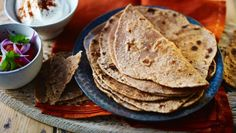 Chapatis |      Chapatis can be reheated but they're best cooked fresh. You could also spread your favourite pickle or chutney over them and roll them into tortilla shapes.
