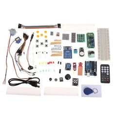 Arduino Compatible Uno Starter Kit Set Upgraded Version With Rfid – Wallmart Esp8266 Wifi, Rfid Arduino, Flashes In Eye, Smart Robot, Led Diy, Arduino Projects, Photo Accessories, Starter Kit, Diy Kits