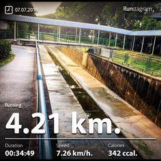 Lazy Run  Recent activity! - 4.21 km Running #health #sport #runstagram  #runstagrammer  #run #running #runkeeper #runnerscommunity #runforabettertomorrow #sgrunners #instarunner  #worlderunners #run #nikerun #nikeplus #loverunning  #justrunlah
