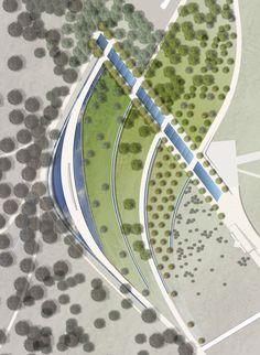 King Hussein Memorial — Gustafson Porter + Bowman #LandscapingSketch #LandscapeMasterplan