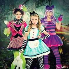 Be wonderful! Loving this collection of Alice in Wonderland costume ideas, from sweet to sassy! #BeACharacter