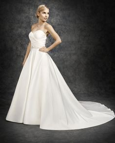 Ella Rosa Style BE317 #bridal #weddingdress