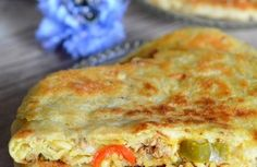 Meloui farci viande hachée - recette Ramadan Pain Pita, Tzatziki, Lasagna, Quiche, Breakfast, Ethnic Recipes, Food, Stuffed Bread, Ground Meat