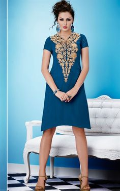 Picture of Ravishing Blue Color Tunic