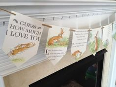 Guess How Much I LOVE YOU book page banner by BookGirlCreations