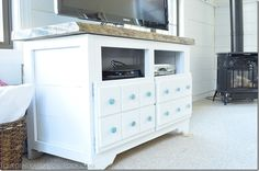 WANT IT!!!-faux drawers on regular cabinet doors!  Genious!  could probably make this for pretty cheap!!!