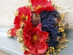 Kytice - Vlčí máky, levandule 4th Of July Wreath, Wreaths, Home Decor, Homemade Home Decor, Door Wreaths, Deco Mesh Wreaths, Interior Design, Home Interiors, Floral Arrangements